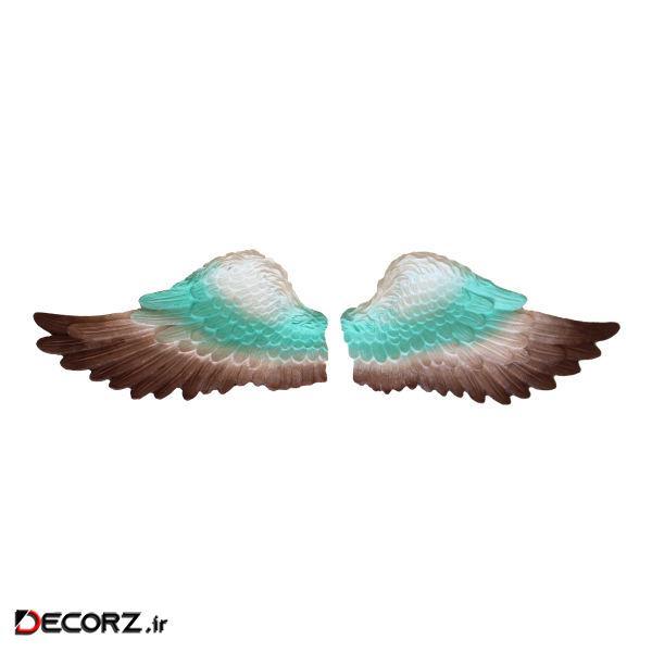 دیوارکوب مدل610 طرح بال فرشته مجموعه2عددی