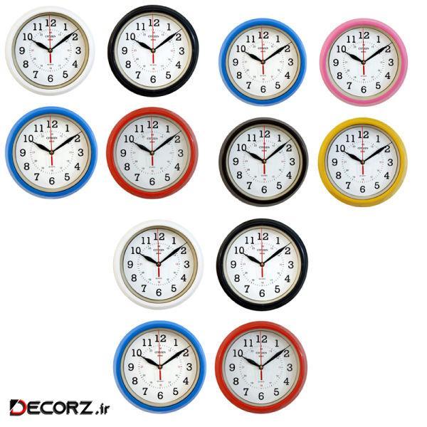 ساعت دیواری سیتیزن کد 3C-C310X3 بسته 12 عددی