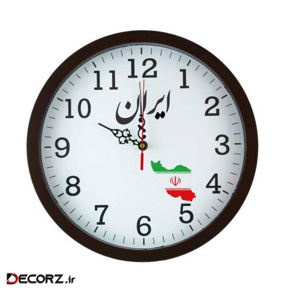 ساعت دیواری مدل ایران