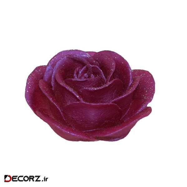 شمع طرح گل کد R1