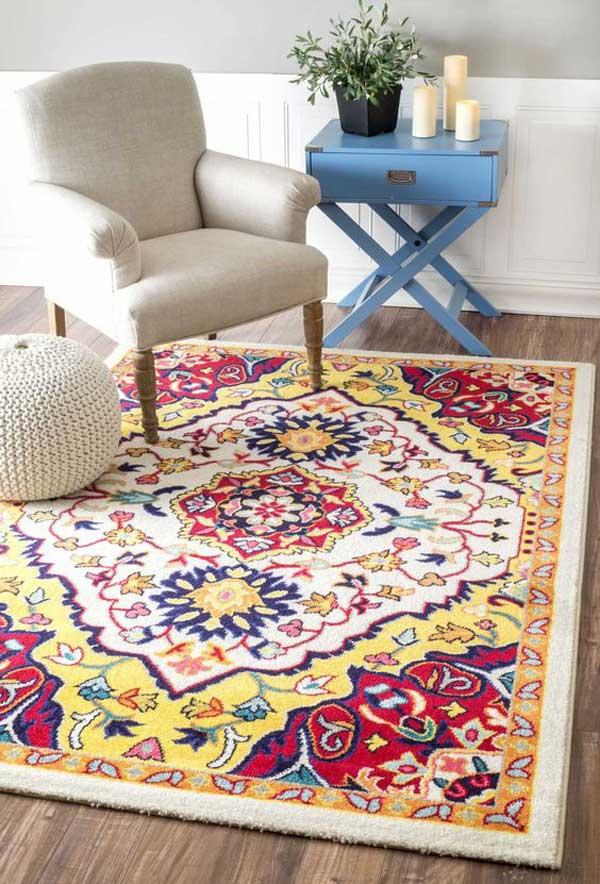 استفاده از فرش در کافی شاپ