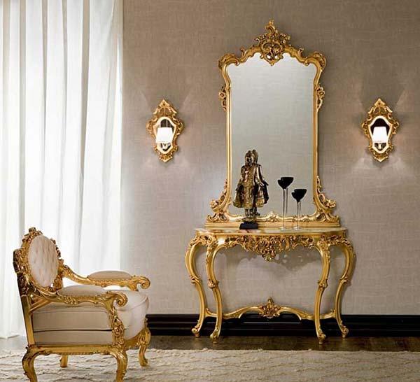 مدل آینه کنسول سلطنتی