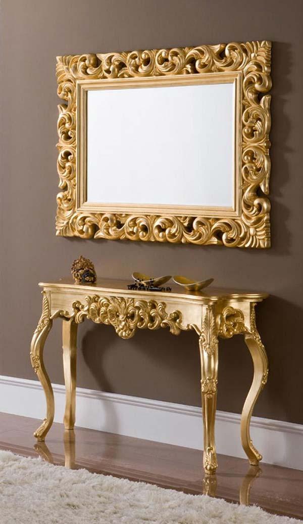خرید آینه کنسول سلطنتی