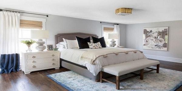 نورپردازی سقفی اتاق خواب