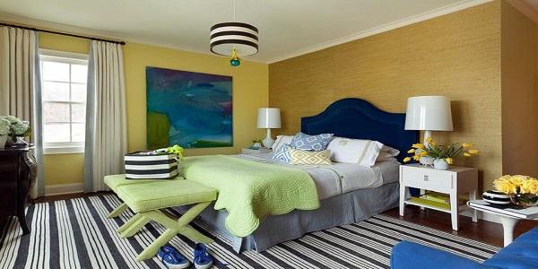 نورپردازی ترکیبی اتاق خواب