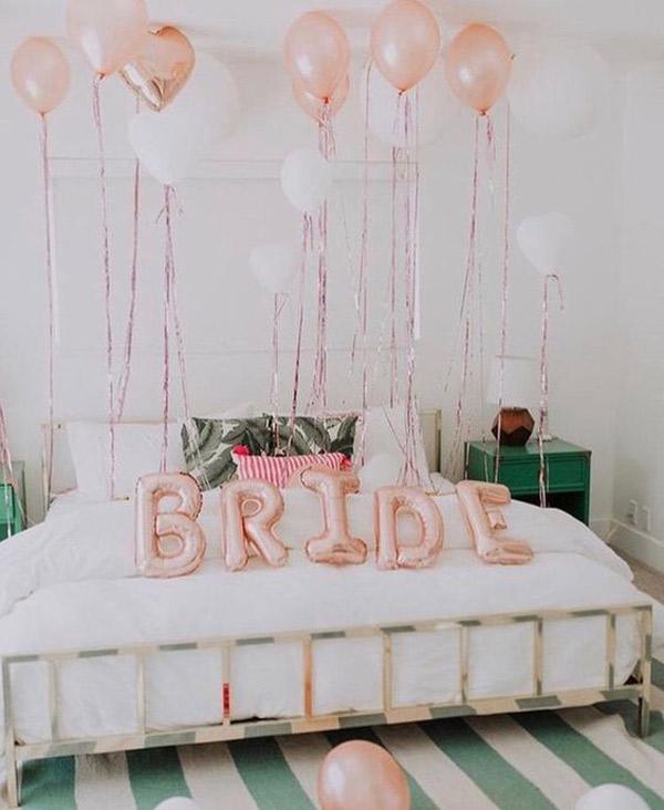 تزیین اتاق عروس ساده