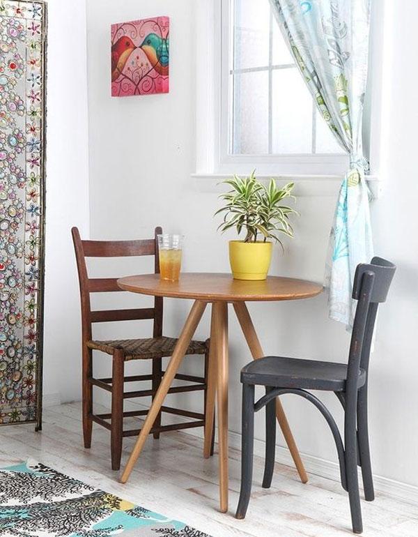 مدل میز ناهارخوری کوچک برای آشپزخانه