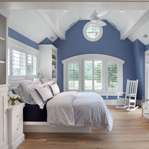 رنگ های مکمل در دکوراسیون اتاق خواب