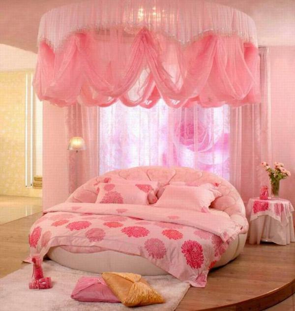 تزیین خاص اتاق خواب عروس با تور