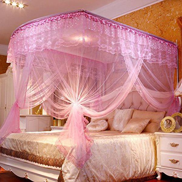 تزیین اتاق عروس با تور و ساتن
