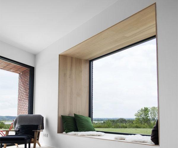 مدل پنجره برای باغ و ویلا آلومینیومی