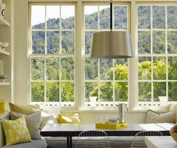 مدل پنجره برای باغ و ویلا سراسری