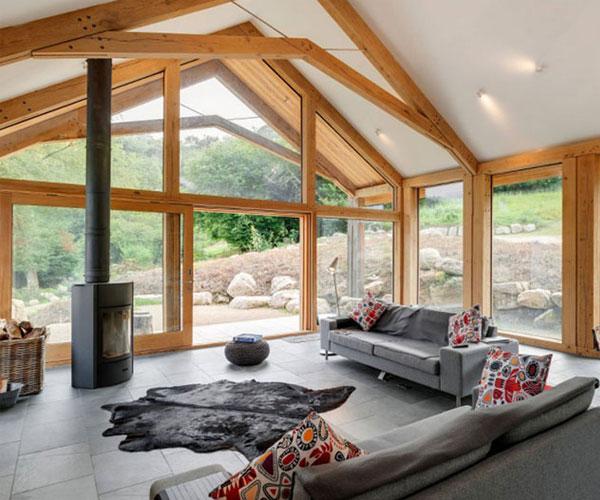مدل پنجره برای باغ و ویلا مناسب ویلاهای مناطق شمالی