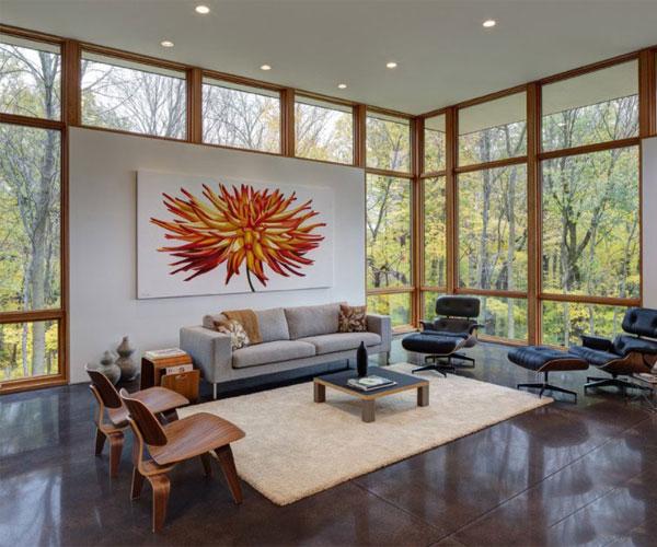 مدل پنجره برای باغ و ویلا مناسب دکوراسیون ویلای مدرن