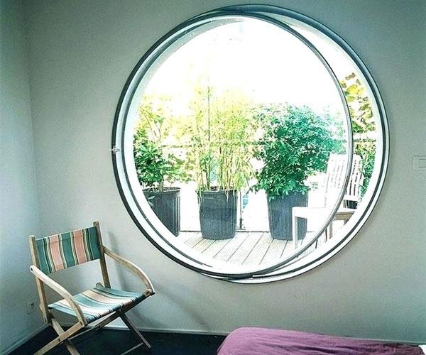 طرح مدرن و شیک مدل پنجره برای باغ و ویلا