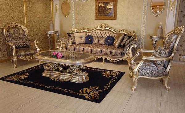 مبل کلاسیک ترکیه ای