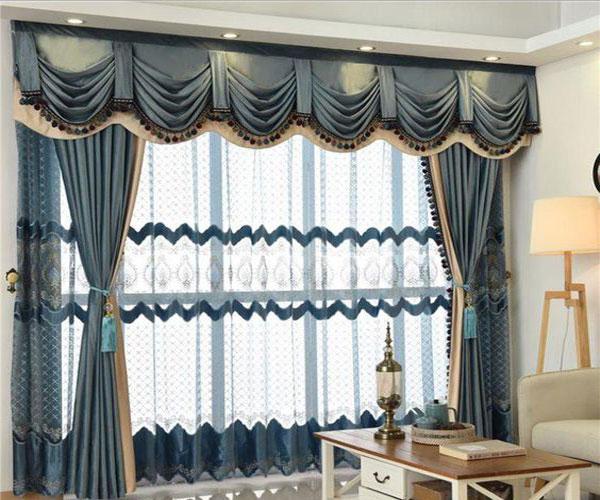 مدل پرده پنجره مناسب پذیرایی و نشیمن خانه