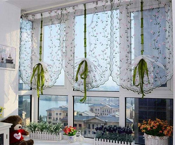 جدیدترین مدل پرده پنجره آشپزخانه