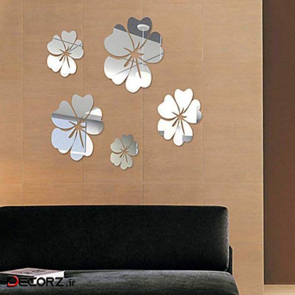 آینه آتریکس مدل گل شقایق MD16 بسته 5 عددی
