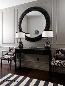 مدل های میز کنسول و آینه مدرن