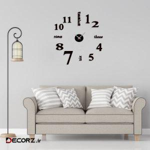 ساعت دیواری بتابی مدل سون کد 1023