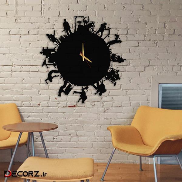 ساعت دیواری مدل band