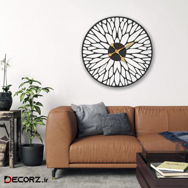 ساعت دیواری مدل leaf