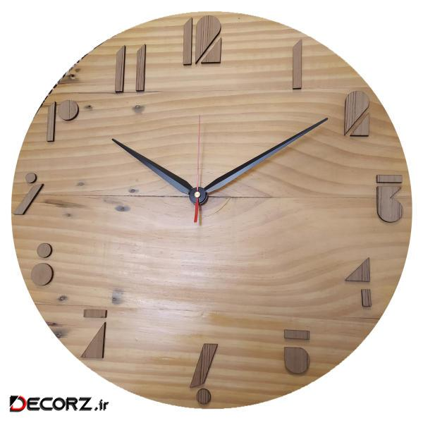 ساعت دیواری کد W-01