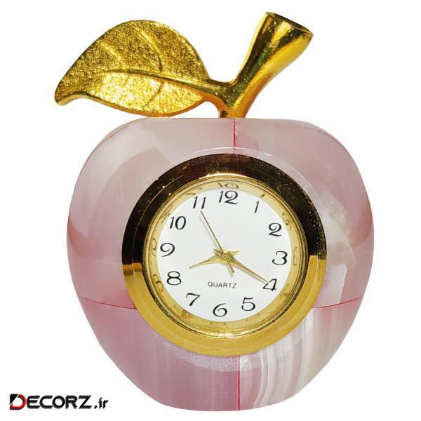 ساعت رومیزی طرح سیب کد M1312