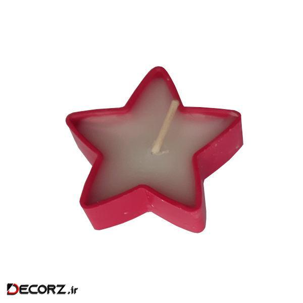 شمع وارمر طرح ستاره مدل 03 بسته 10 عددی