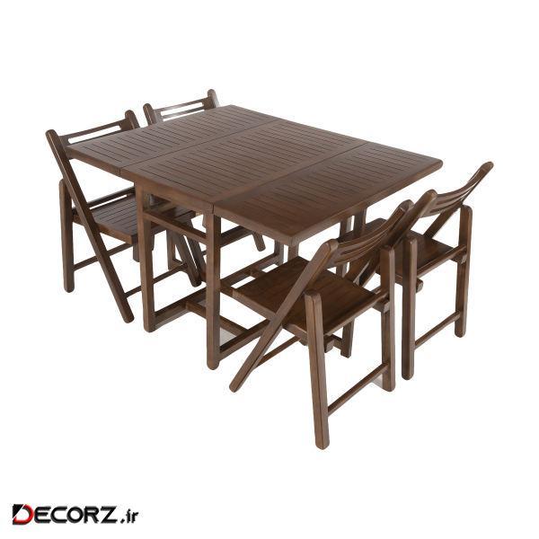 میز و صندلی ناهار خوری عاج مدل A103