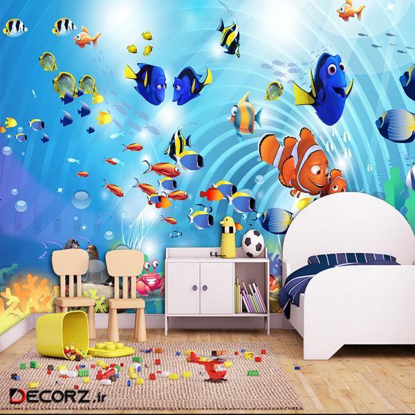 پوستر دیواری سه بعدی کودک کد 16982073
