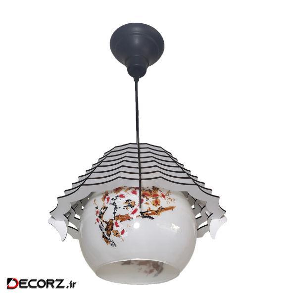 چراغ اویز سوران مدل اورانوس کد 2