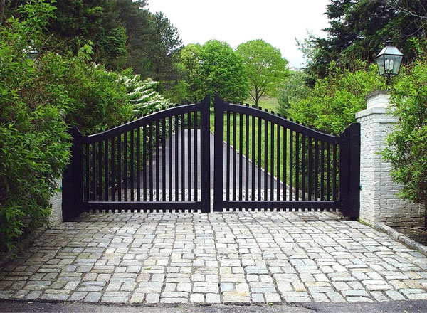 نمونه درب آهنی ورودی باغ