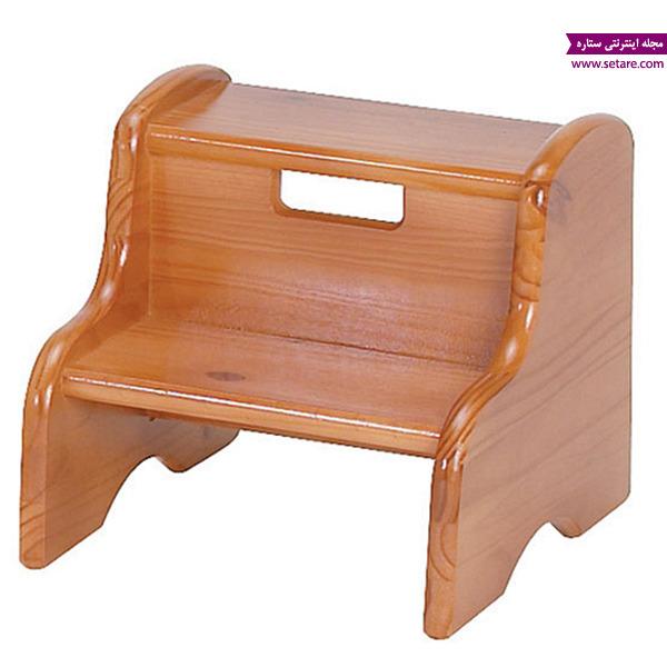 چهارپایه، چهارپایه پله دار، کمد کودک