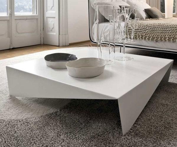 مدل میز جلو مبلی مدرن با جنس پلکسی
