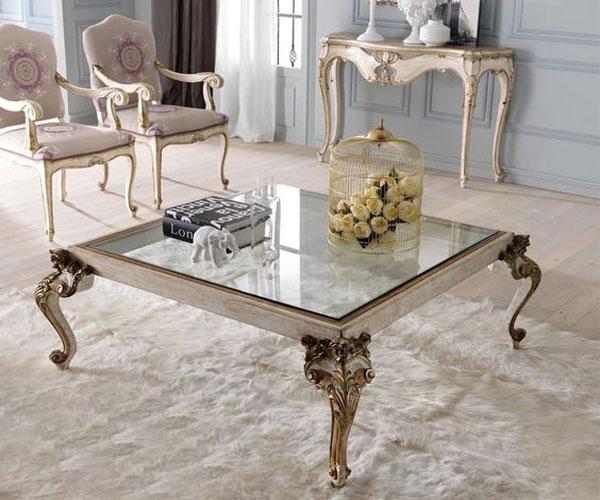 مدل میز جلو مبلی  سلطنتی
