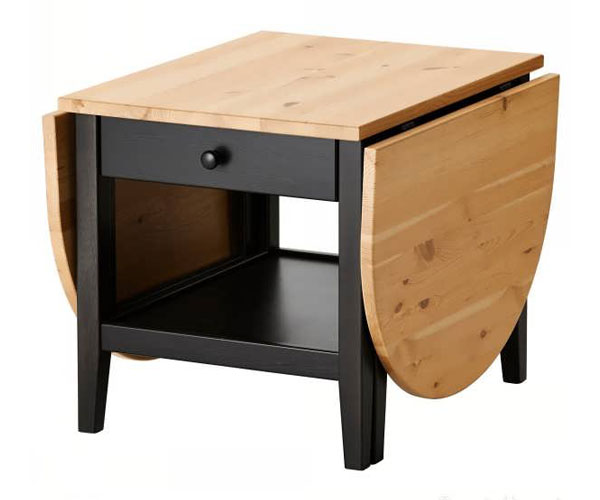 مدل میز جلو مبلی  تاشو مناسب اتاق پذیرایی و نشیمن