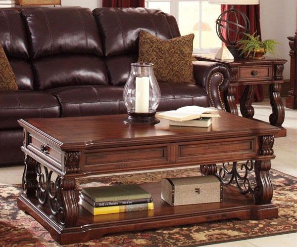 مدل میز جلو مبلی کلاسیک