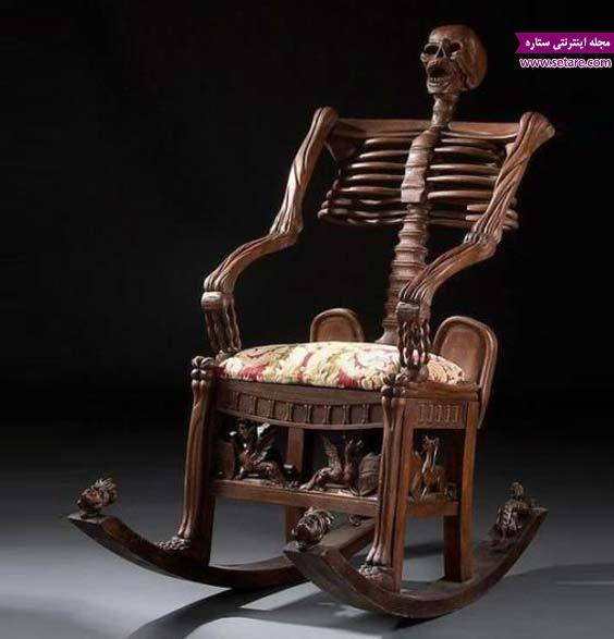 عکس صندلی پاندولی اسکلت