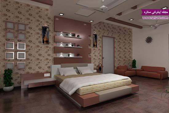 طرح کناف اتاق خواب - مدل کناف برای اتاق خواب - طرح جدید کناف