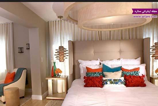 طرج جدید کناف - عکس کناف اتاق - کناف کردن اتاق خواب