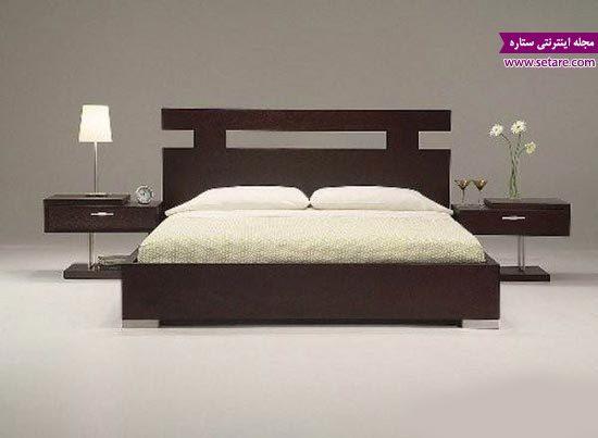 تخت خواب دخترانه - مدل تخت خواب دو نفره - عکس تخت خواب