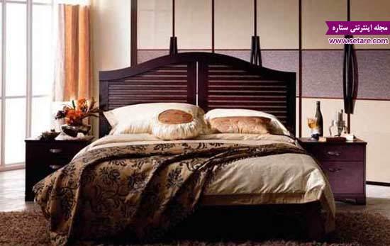 تخت خواب دو نفره - عکس تختخواب - مدل تخت خواب