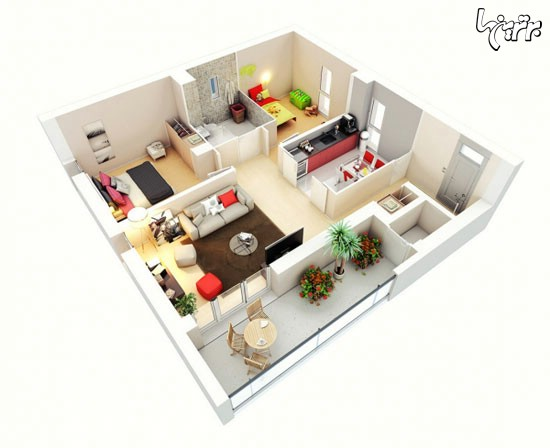 ایده هایی برای ساخت خانه