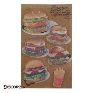 استیکر لَتِچ مدل Burger کد CA-105