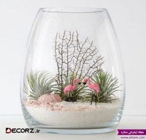 عکس  مینی گلدان تزئینی