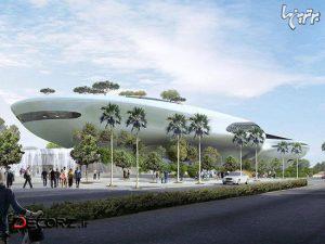 معماری اعجاب انگیز موزه لوکاس در لس آنجلس