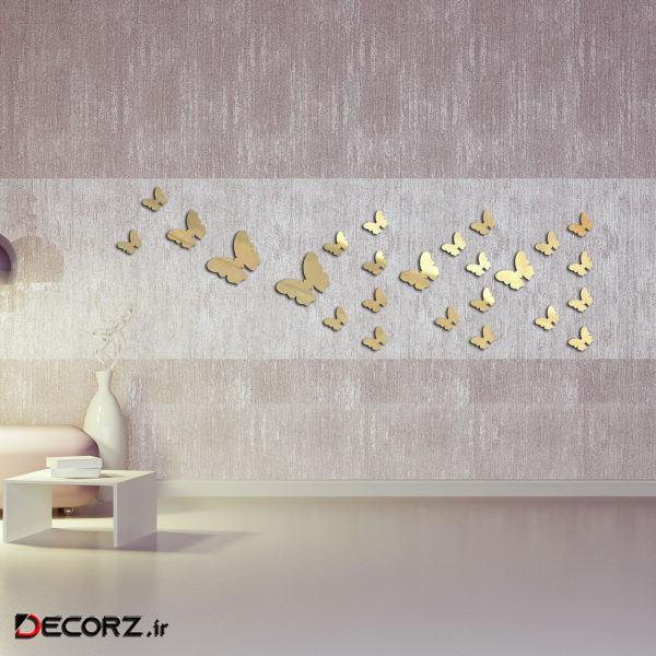 آینه طرح پروانه کد Z09