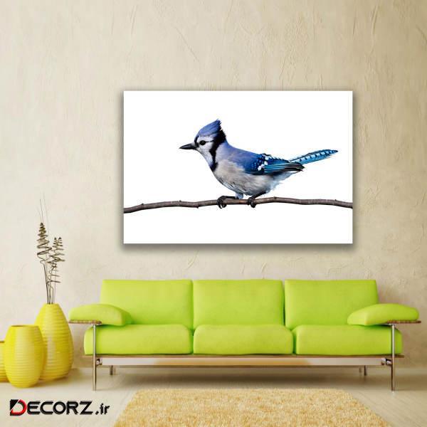 تابلو شاسی طرح پرندگان زیبا کد 124